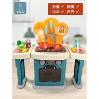 宝宝做饭玩具套装 小孩过家家厨房男孩女孩煮饭炒菜全套组合儿童