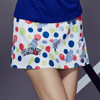 羽毛球服裤裙 女短裤裙 网球裙裤防走光运动裤裙修身显瘦夏 C6121小熊裤裙