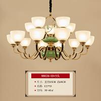 新中式吊灯 客厅卧室餐厅书房酒店茶楼复古中国风铁艺装饰灯具