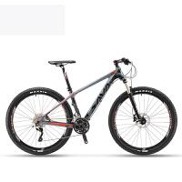 碳纤维山地车27.5寸超轻自行车男女30速油刹禧玛诺XT迪卡