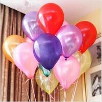 婚庆气氛装饰布置节日结婚饰景气球珠光加厚庆典生日派对用品