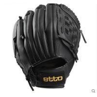 简约经久耐用运动棒球手提舒适柔软投手手套PU皮制耐磨棒球手套