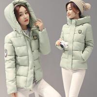 2017秋冬新款韩版外套女短款加厚棉衣学生面包服棉袄学院风