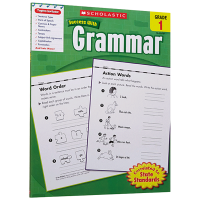 美国小学一年级英语语法练习册 英文原版 Scholastic Success with Grammar 1 英文版学乐