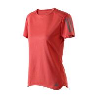 adidas阿迪达斯女子短袖T恤2018新款跑步训练休闲运动服CF2140