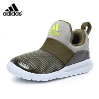 阿迪达斯(adidas)童鞋新款男女婴童海马运动鞋 一脚蹬休闲鞋