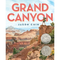 英文原版 大峡谷 精装绘本 2018年凯迪克银奖 Grand Canyon by Jason Chin