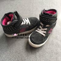 『辰妈家』yuan单儿童休闲运动板 铆钉侧拉链nb女童高帮板鞋
