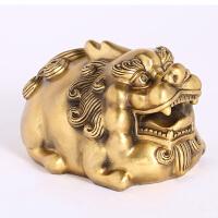 镇纸铜貔貅摆件办公室桌面装饰工艺品