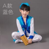 六一儿童古装舞蹈表演服装国学汉服书童演出服男女
