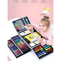 蜡笔套装72色儿童画画笔水彩笔彩色笔安全无毒美术绘画小学生女孩子生日礼物开学可水洗软头颜色笔幼儿园画笔