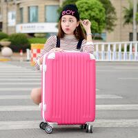 【特惠】2019优选特大容量32寸行李箱男士拉杆箱大号密码箱出国大旅行箱扩展皮箱 玫红色 370#