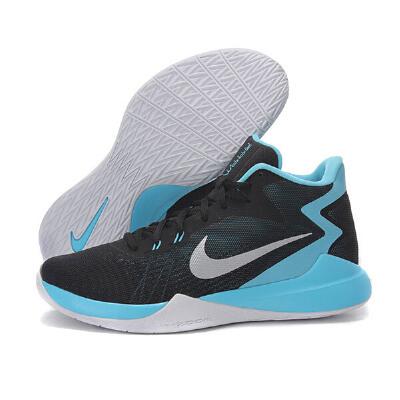NIKE耐克篮球鞋ZOOM男鞋2017夏季气垫实战防滑缓震运动鞋852464
