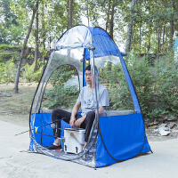户外野外钓鱼用品垂钓装备单人帐篷防雨风遮阳棚冰钓帐蓬