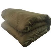 学生宿舍棉胎棉絮垫被褥子床垫宾馆酒店棉花被子军被春秋冬带被套 5.(带军绿被套)
