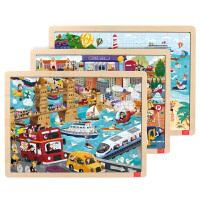 儿童玩具3-5-6周岁男女孩新年礼物木制儿童拼图拼板