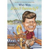 英文原版 名人传记系列 Who Was John F. Kennedy?: Who Was...?