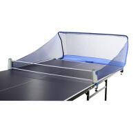 乒乓球台拦网 发球机集球网 训练网挡球多球回收网网架折叠式HW