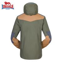 LONGSDALE男士户外三合一冲锋衣 秋冬季加厚保暖旅行夹克外套