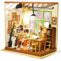DIY手工创意情人节礼物创意礼品女生艾达画室房子模型