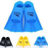 游泳脚蹼男 儿童学游泳套装备自由浮潜水长短脚蹼噗板HW