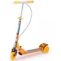 儿童三轮车全铝手刹滑板车合金加厚大轮双刹车大减震滑板车玩具5-15岁滑板车