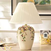 结婚礼物婚庆礼品创意实用复古家居装饰品欧式台灯卧室床头灯摆件