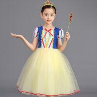 白雪公主裙子女童裙六一节儿童服装舞会表演服演出服