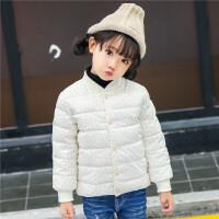 儿童羽绒男童内胆女童冬装外套宝宝棉衣童装