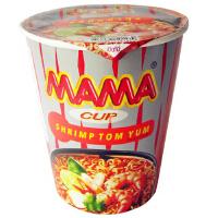 [当当自营] 泰国进口 妈妈MAMA 酸辣虾味方便面(杯面)60g