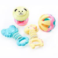 婴儿玩具宝宝0-1岁男女孩幼儿新生儿牙胶摇铃 g5m