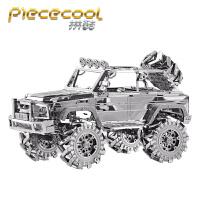 拼酷越野车3D立体金属拼图汽车模型成人益智玩具创意礼物