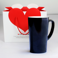 变色创意DIY陶瓷杯相片定制马克杯星座情侣一对杯子大容量喝水杯