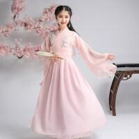 扶摇古装儿童古筝演出服女汉服女童香蜜古装仙女装中国风古代衣服
