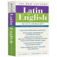 全新大学拉丁语英语字典词典 The Bantam New College Latin English Dictiona