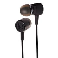 铁三角(Audio-technica)ATH-CKL220 时尚入耳式手机电脑耳机 黑色