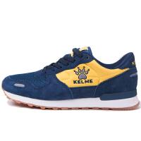 KELME卡尔美 K66X6013 男式减震耐磨复古休闲鞋 轻便透气运动鞋 户外运动慢跑鞋