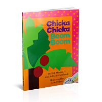 Chicka Chicka Boom Boom (Book& CD) 叽喀叽喀碰碰(书+CD)