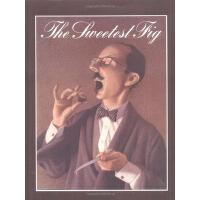 英文原版绘本 The Sweetest Fig 假如你吃了无花果 极地特快 同作家Chris van Allsburg
