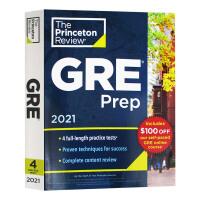 普林斯顿GRE考试备考指南2021 Princeton Review GRE Prep 2021 英文原版 4套练习测试