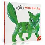 顺丰发货 Hello, Red Fox嗨,红狐狸!Eric Carle(艾瑞・卡尔)描写的却是一只绿色的青蛙过生日的故