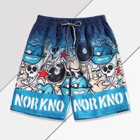 沙滩裤简约男士速干海边度假休闲健身游泳大裤衩海边游泳套装