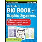 英文原版 信息组织图教师手册 The Teacher'S Big Book Of Graphic Organizers