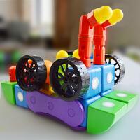 儿童拼搭积木百变积木幼儿园玩具礼盒装立体磁力积木
