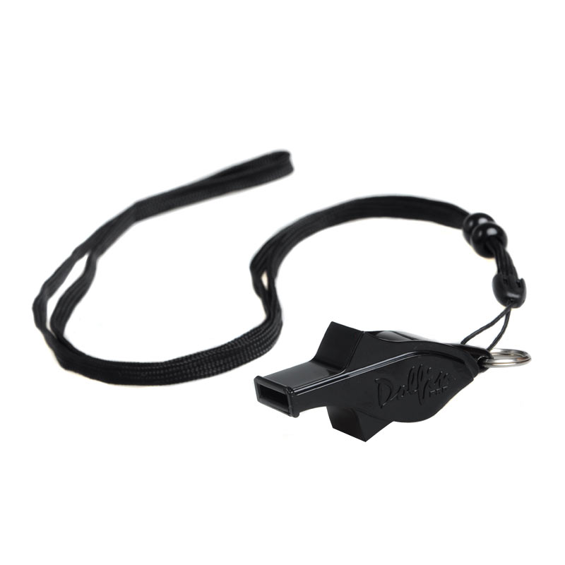 Molten/摩腾 海豚口哨 WDFPBK 裁判口哨 篮球哨子足球排球哨 海豚裁判口哨 带挂绳,包括两个调节环