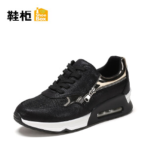 Daphne/达芙妮旗下 鞋柜春秋休闲时尚舒适跑步运动鞋女鞋单鞋女