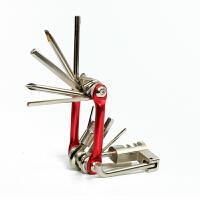 自行车维修工具套装组合山地车螺丝刀内六角截链器单车配件