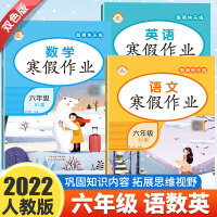 寒假作业六年级语文数学英语 人教版部编版