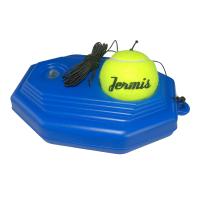 带橡皮筋的网球 高弹带线网球练习器训练器底座单人回弹皮筋耐打耐磨甩甩球HW