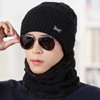 韩版潮时尚青年针织帽包头男士棉帽冬季帽子男冬天休闲毛线帽保暖